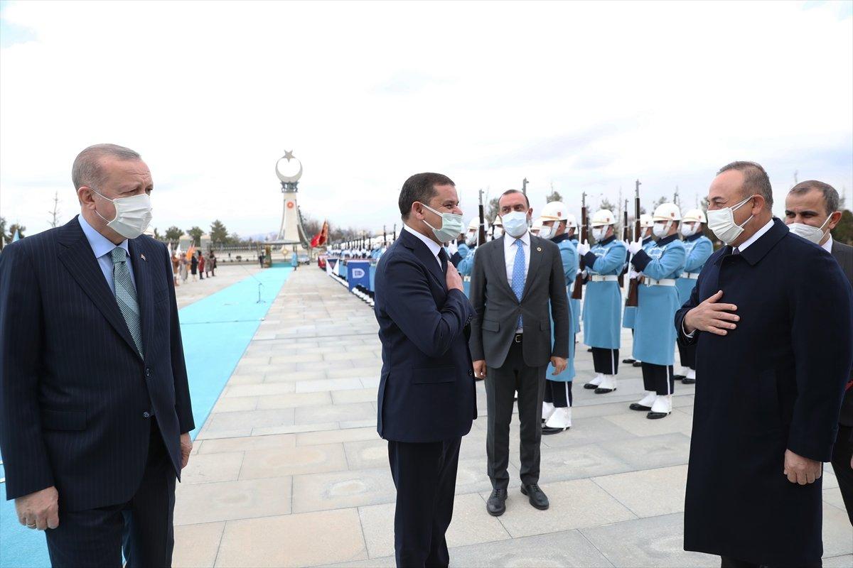 Beştepe de Erdoğan - Dibeybe görüşmesi #2