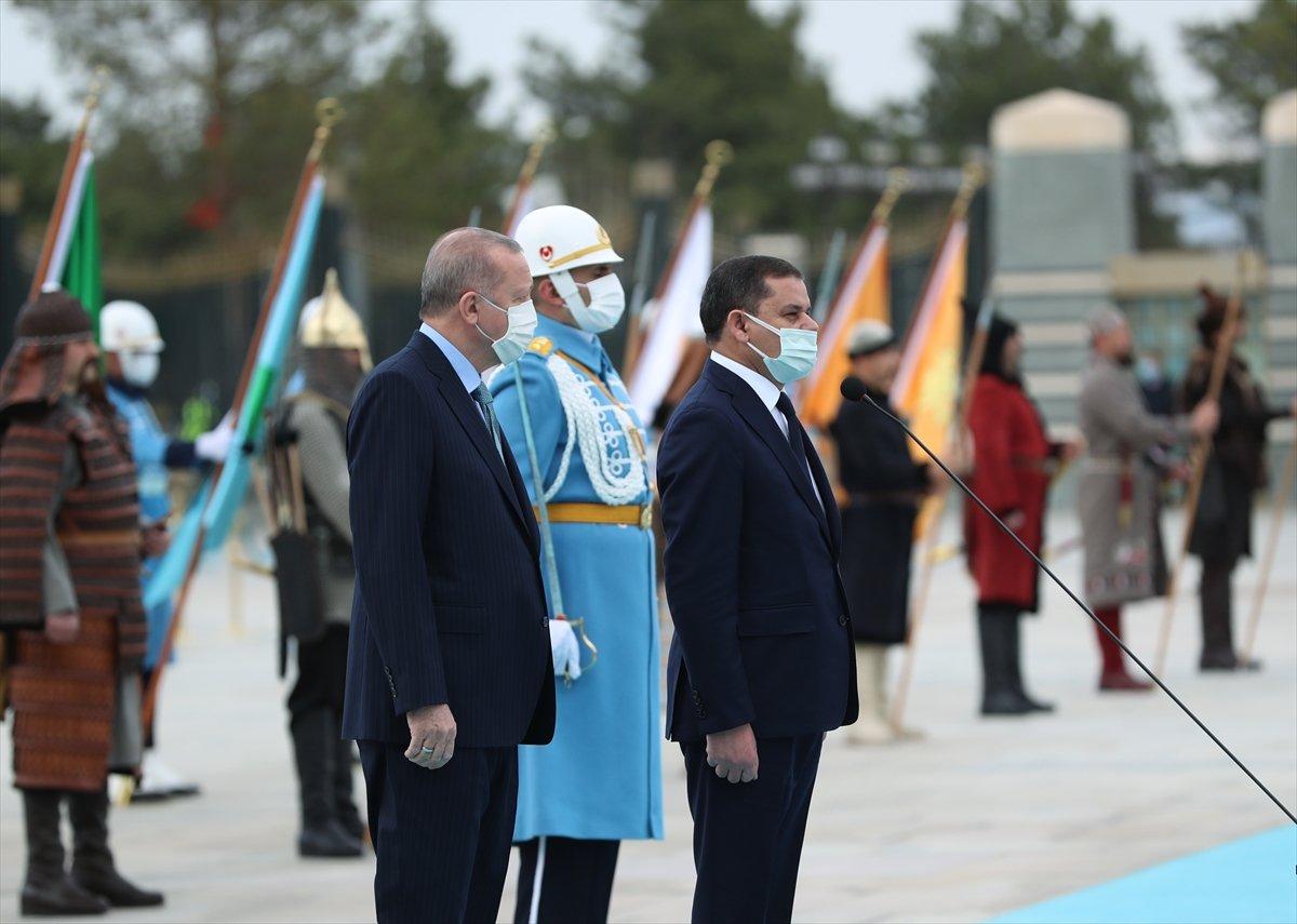Beştepe de Erdoğan - Dibeybe görüşmesi #3