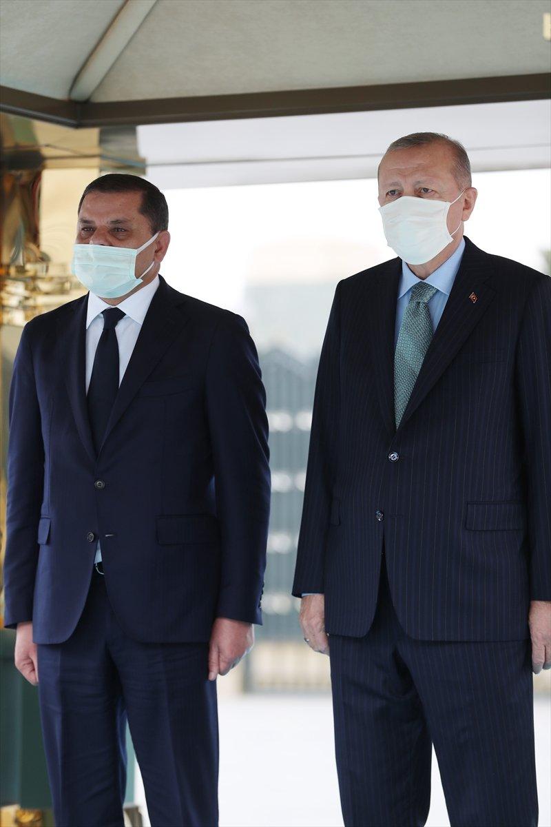 Beştepe de Erdoğan - Dibeybe görüşmesi #4