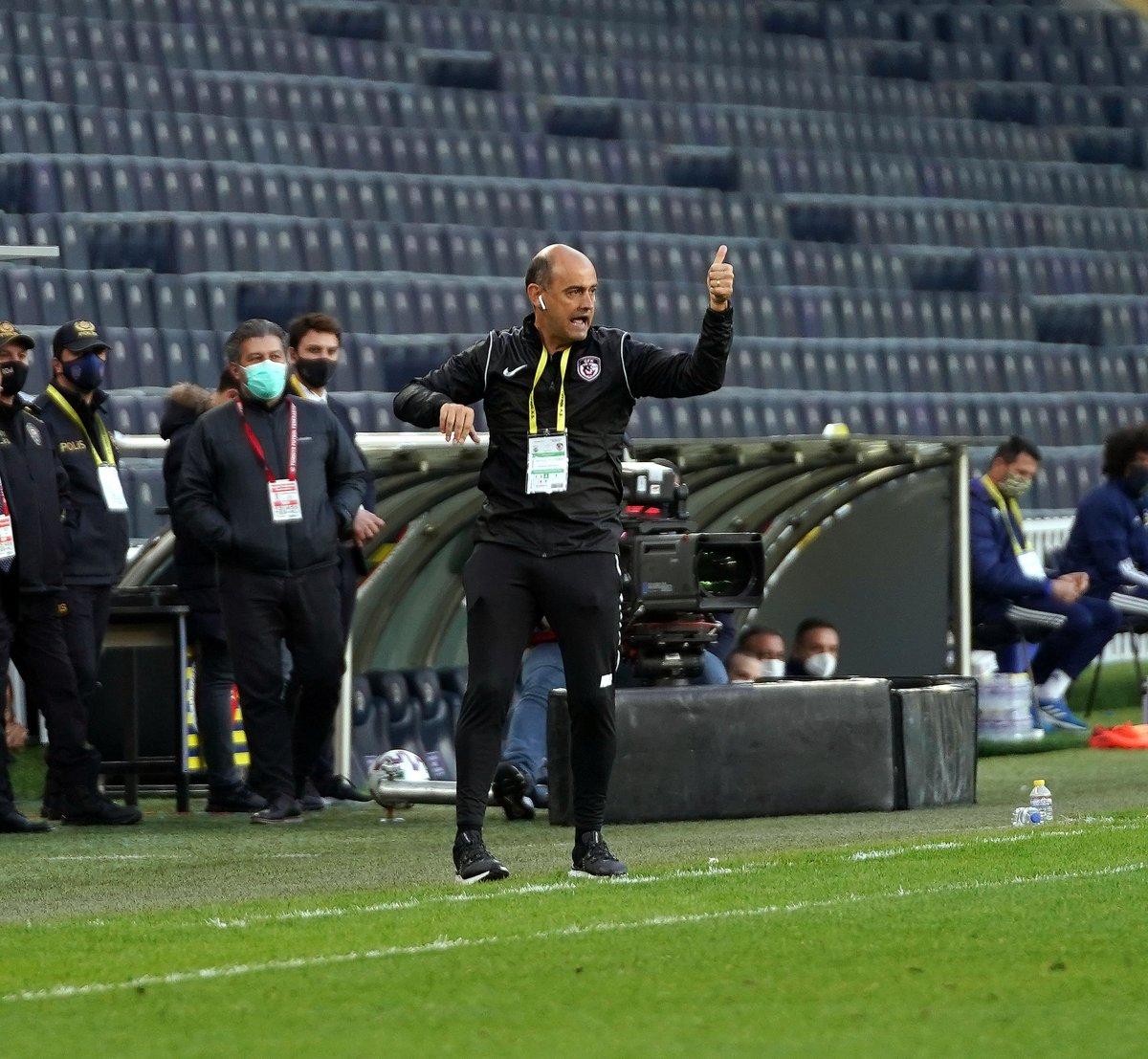 Fenerbahçe evinde Gaziantep i 3 golle mağlup etti #7