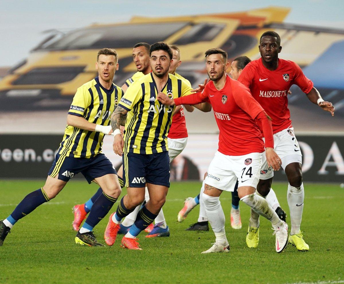 Fenerbahçe evinde Gaziantep i 3 golle mağlup etti #6