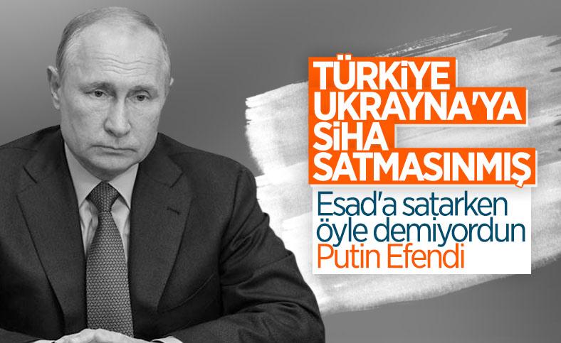 Rusya'dan Türkiye'ye: Ukrayna'ya SİHA-İHA satmayın