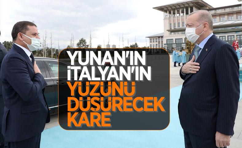 Beştepe'de Erdoğan - Dibeybe görüşmesi