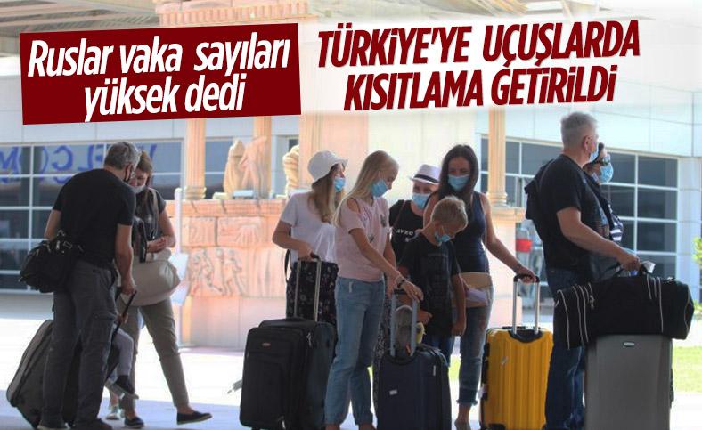 Rusya, Türkiye ile tüm uçuşlarını askıya aldı