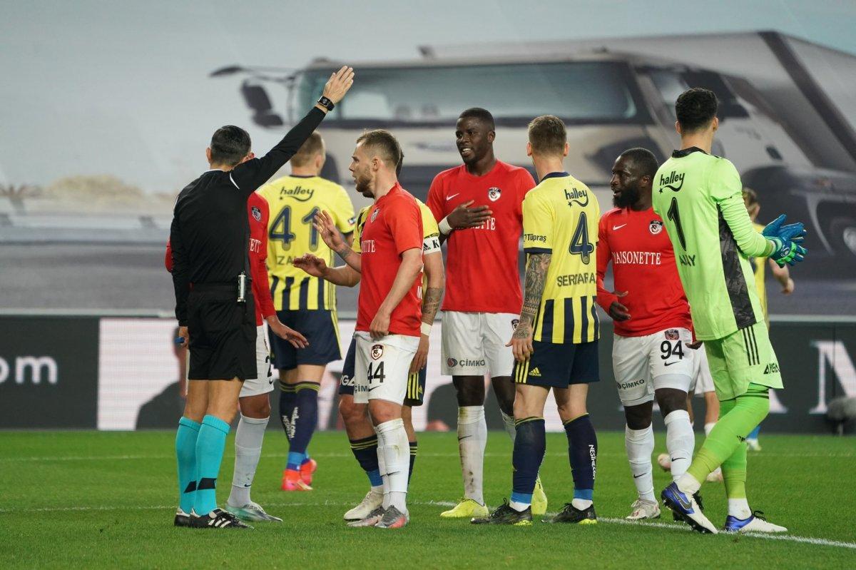 Fenerbahçe evinde Gaziantep i 3 golle mağlup etti #5
