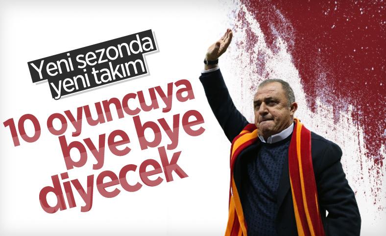Galatasaray, yeni sezonda 10 oyuncuyla yolları ayırmayı planlıyor