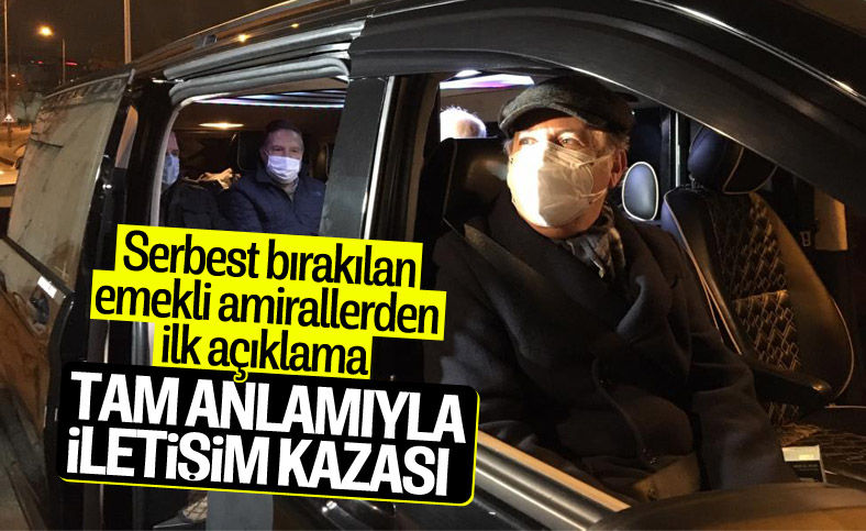 Cem Gürdeniz: Tam anlamıyla bir iletişim kazası