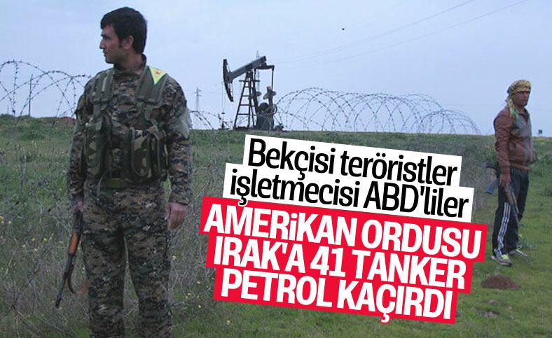 Suriye medyası: ABD, Suriye'den Irak'a 41 tanker petrol kaçırdı