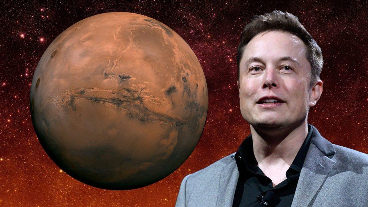 Elon Musk, kendini Marsın imparatoru ilan etti