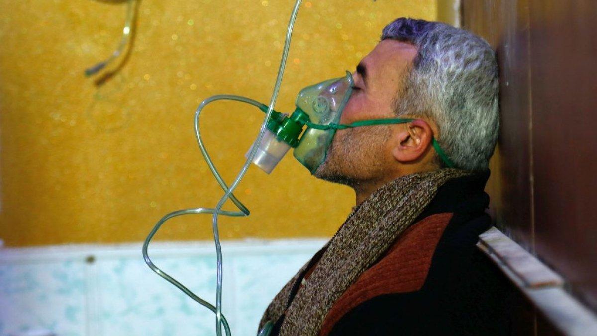Dışişleri Bakanlığı ndan Suriye de rejim güçlerinin kimyasal silah kullanımına tepki #1