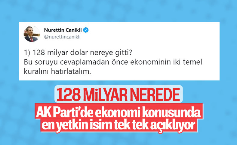 Nurettin Canikli'den '128 milyar dolar' açıklaması