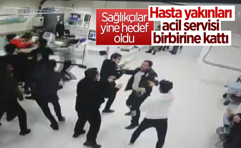 Sivas'ta hasta yakınları sağlık çalışanlarına saldırdı