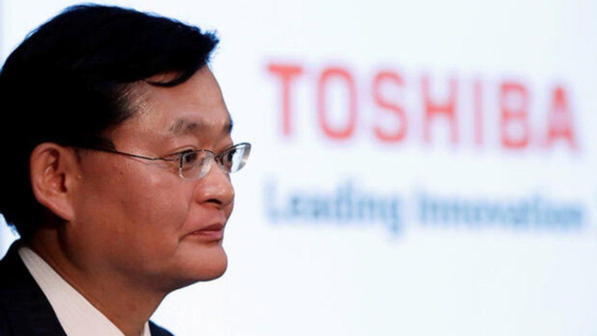 Toshiba CEOsu Nobuaki Kurumatani istifa etti