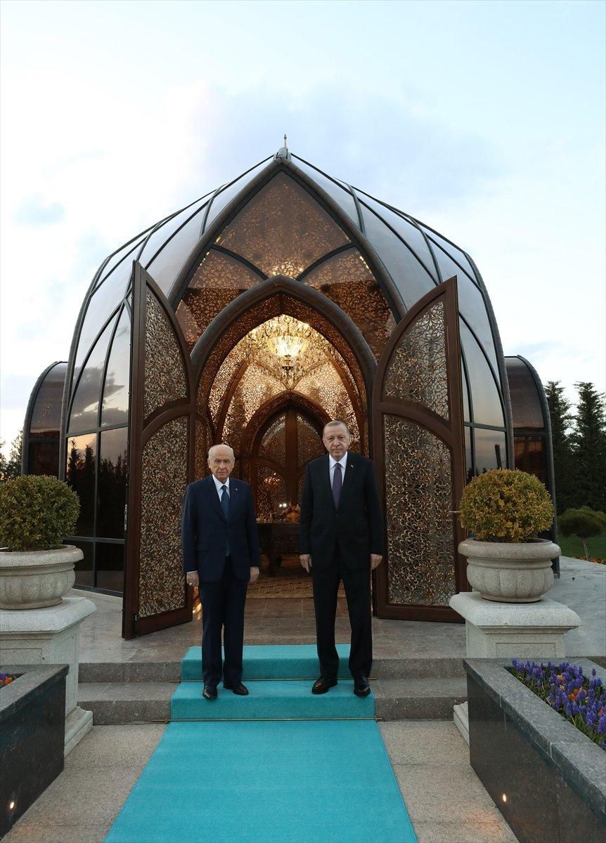 Cumhurbaşkanı Erdoğan ile Devlet Bahçeli iftarda buluştu #2