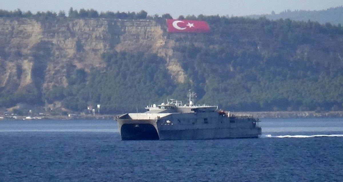 ABD gemileri Karadeniz e giriş yapmayacak #1