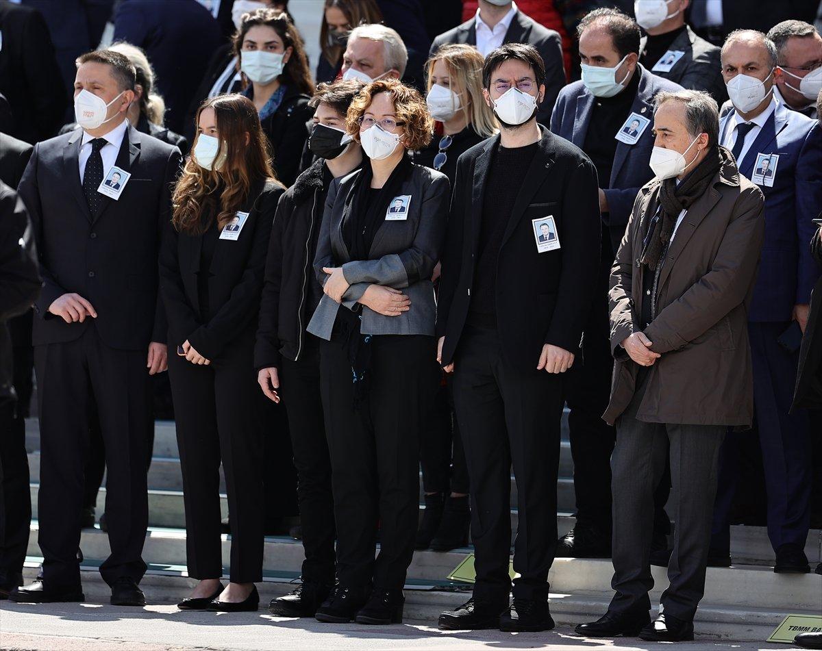 Cumhurbaşkanı Erdoğan, Yıldırım Akbulut un cenaze törenine katıldı #9