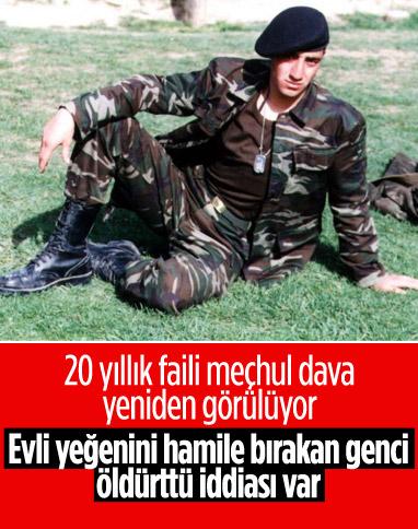 Kocaeli'de 20 yıl önce öldürülen er yasak aşk kurbanı iddiası