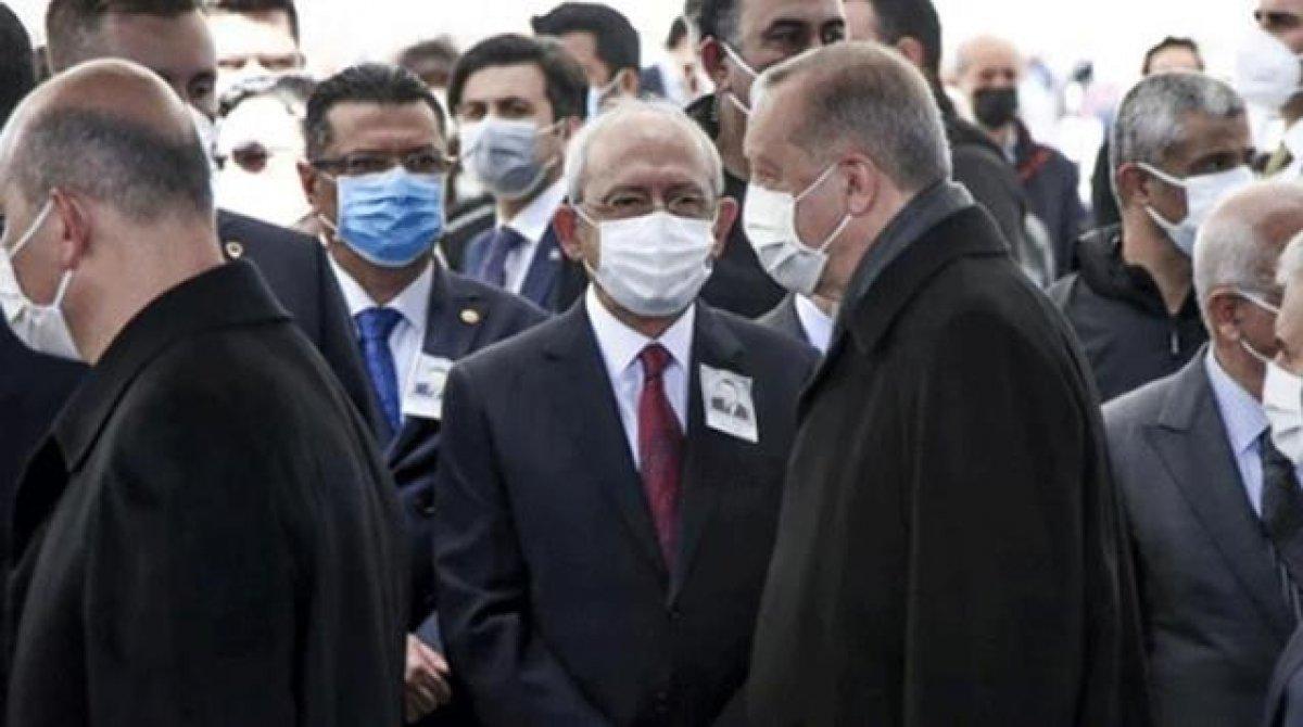 Cumhurbaşkanı Erdoğan, Kılıçdaroğlu na selam vermedi #3