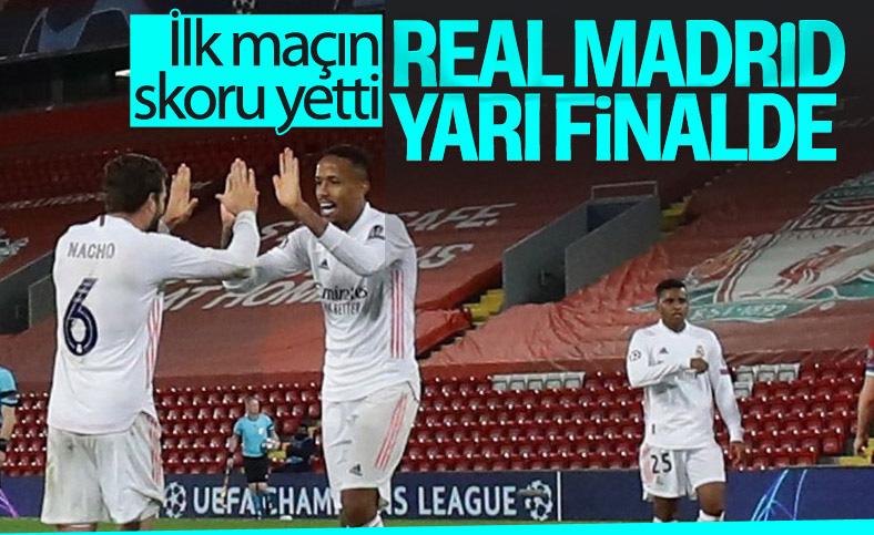 Real Madrid Şampiyonlar Ligi'nde Liverpool'u eledi