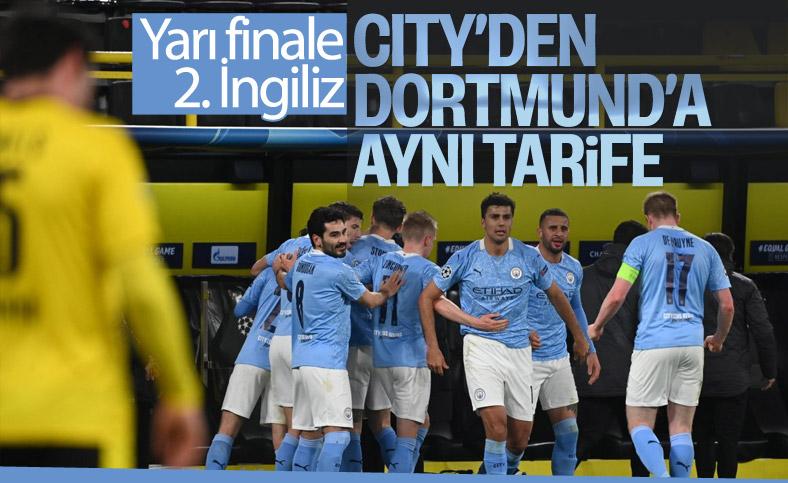 Manchester City Şampiyonlar Ligi'nde Borussia Dortmund'u eledi