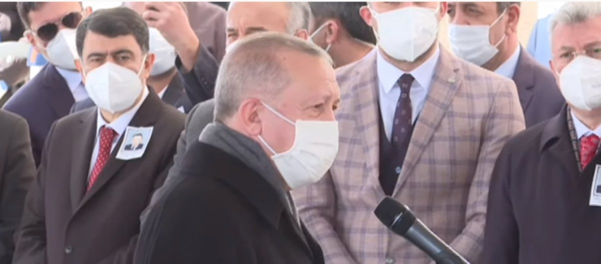 Cumhurbaşkanı Erdoğan, Yıldırım Akbulut un cenaze törenine katıldı #1