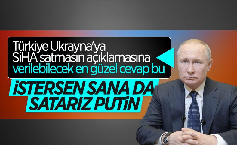 Ankara'dan Rusya'ya SİHA yanıtı