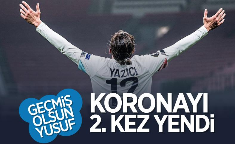 Milli futbolcu Yusuf Yazıcı koronavirüsü 2'nci kez atlattı