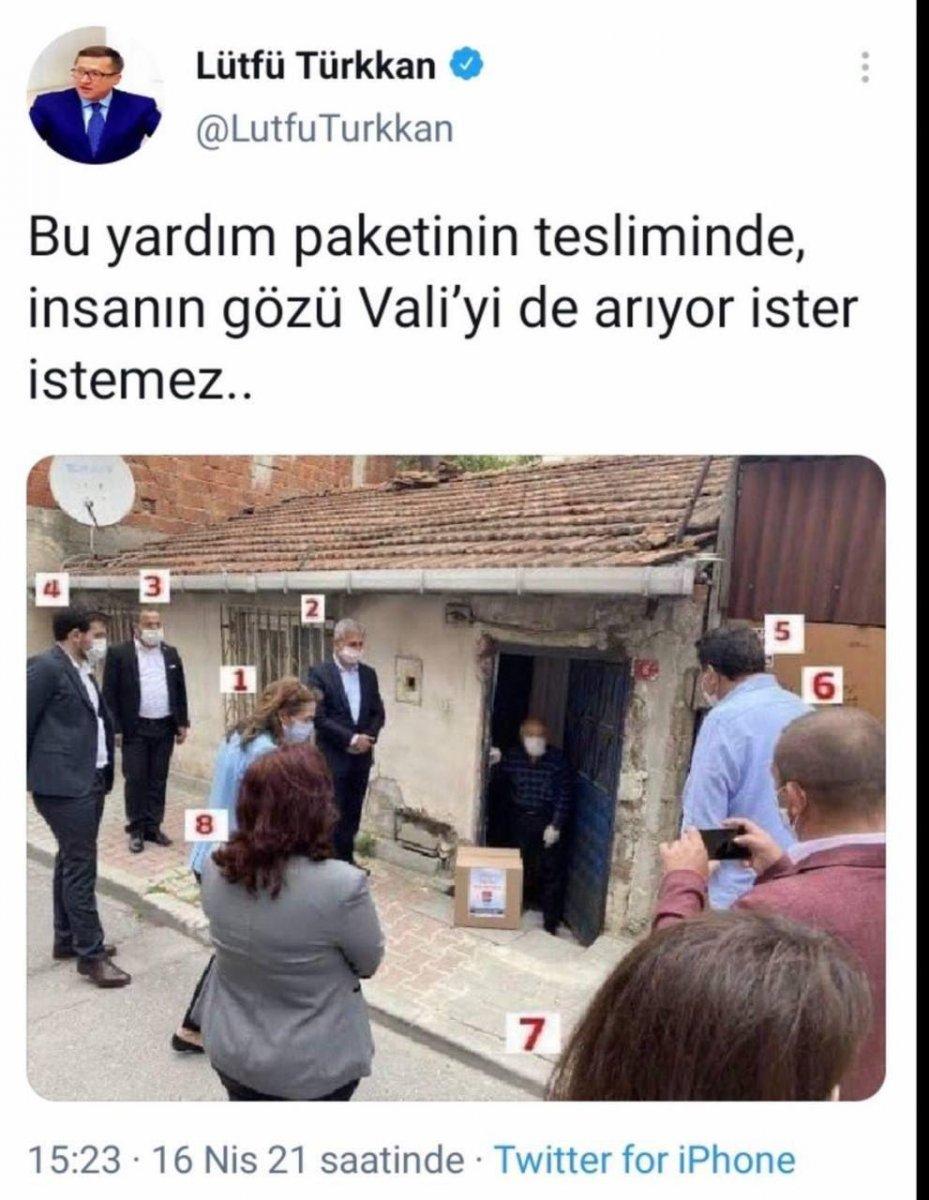 Lütfü Türkkan iktidarı eleştireyim derken CHP fotoğrafı paylaştı #1