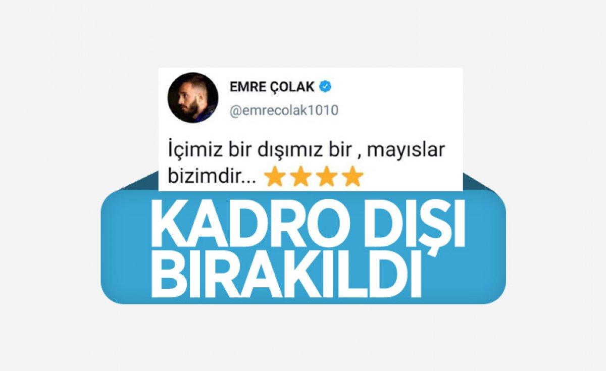 Emre Çolak, Fatih Karagümrük le yollarını ayırdığını açıkladı #5