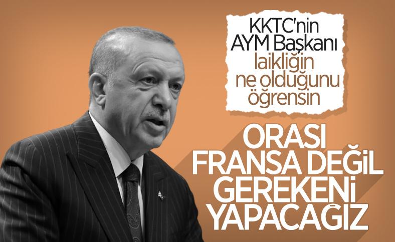 Cumhurbaşkanı Erdoğan KKTC'nin Kur'an kursları kararını değerlendirdi