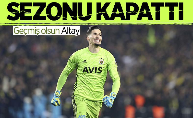 Fenerbahçe'de Altay Bayındır sakatlandı