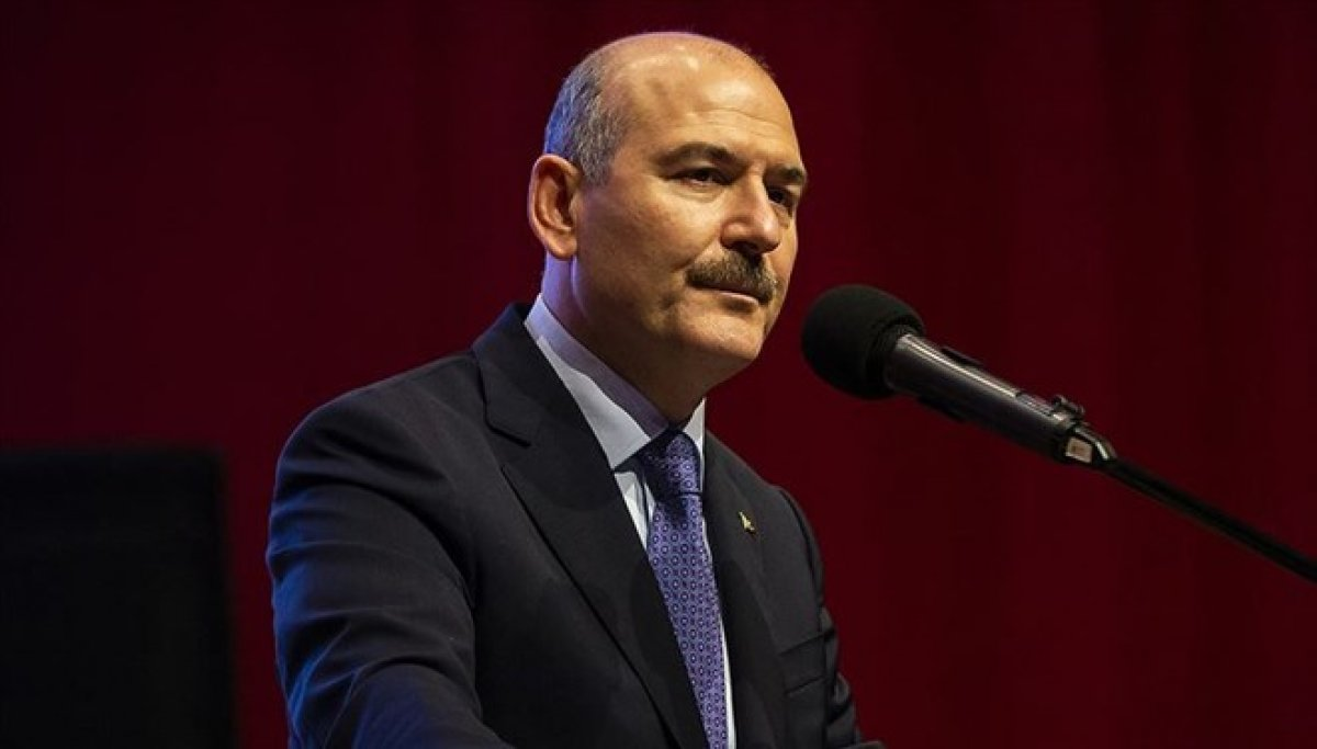 İçişleri Bakanı Süleyman Soylu: İkametini iptal ederim hemen #1