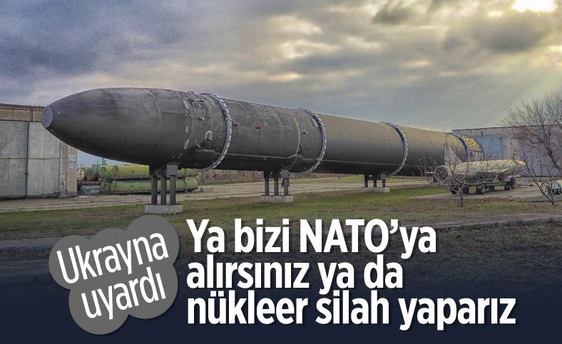Ukrayna'dan NATO ve Avrupa Birliği'ne nükleer silah uyarısı