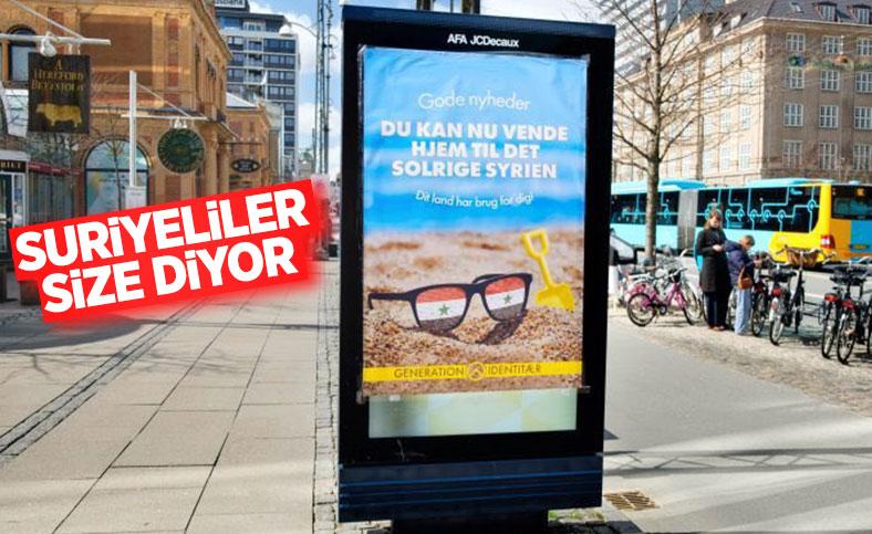 Danimarka'dan ülkede yaşayan Suriyelilere: Ülkenize artık dönebilirsiniz