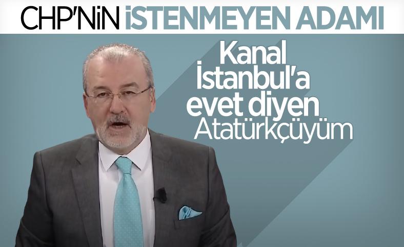 Hulki Cevizoğlu: Kanal İstanbul'a evet diyen bir Atatürkçüyüm