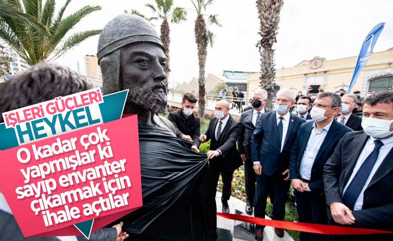 İzmir Büyükşehir Belediyesi, şehirdeki heykelleri saydıracak