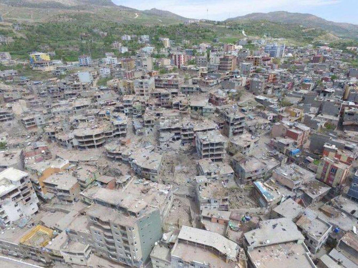 Terör mağduru Şırnaklılar yeni evlerine kavuştu #1