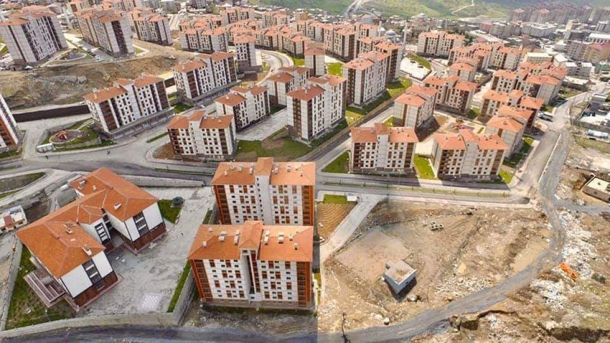 Terör mağduru Şırnaklılar yeni evlerine kavuştu #4