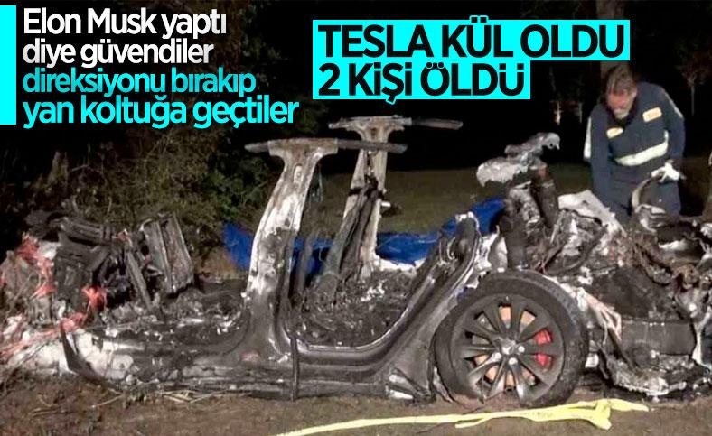 Tesla'nın otomatik sürüş sistemi nedeniyle 2 kişi öldü