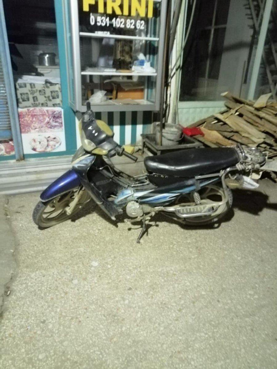 Hatay da motosiklet hırsızları 30 dakikada yakayı ele verdi #1