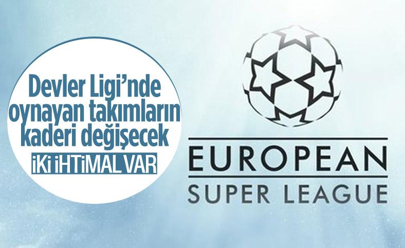 Şampiyonlar Ligi'nde yarı final oynayacak Avrupa Süper Ligi kurucularının kaderi belli oluyor