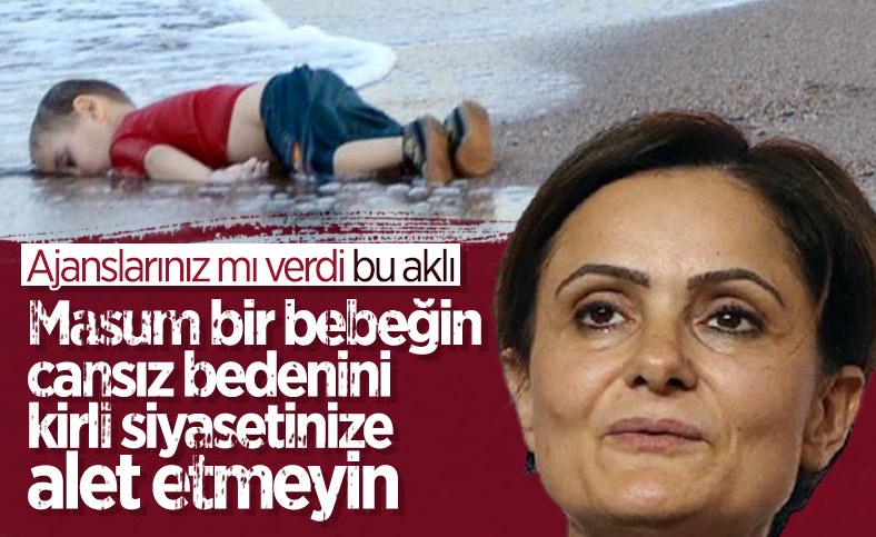Canan Kaftancıoğlu'nun tepki toplayan Aylan bebek paylaşımı