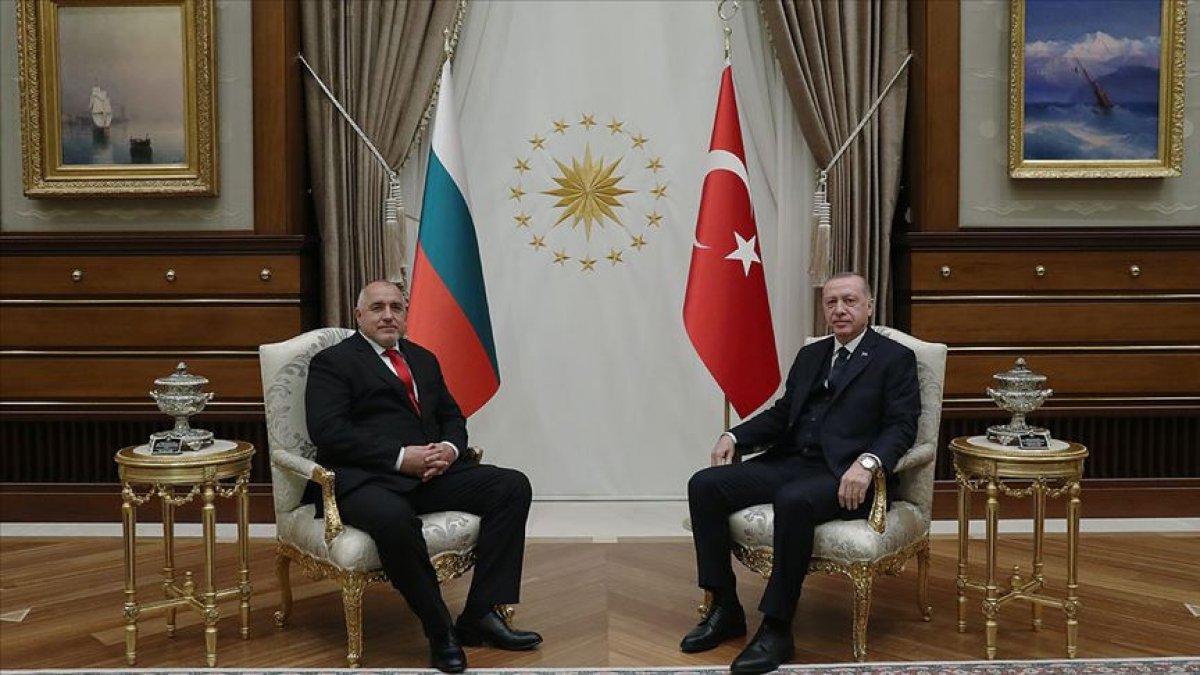 Cumhurbaşkanı Erdoğan, Boyko Borisov ile görüştü #1