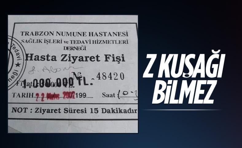 Bir zamanların Türkiye'si: Hasta ziyaret fişleri