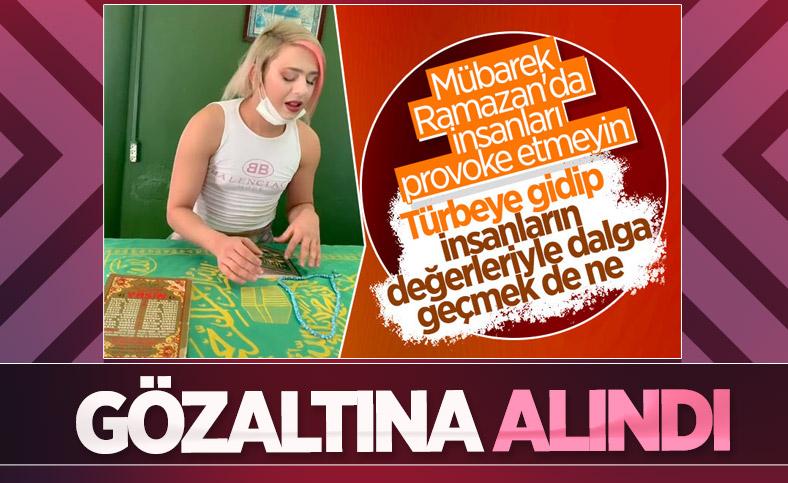 Adana'daki türbede çekilen TikTok videosunun sahibi gözaltına alındı