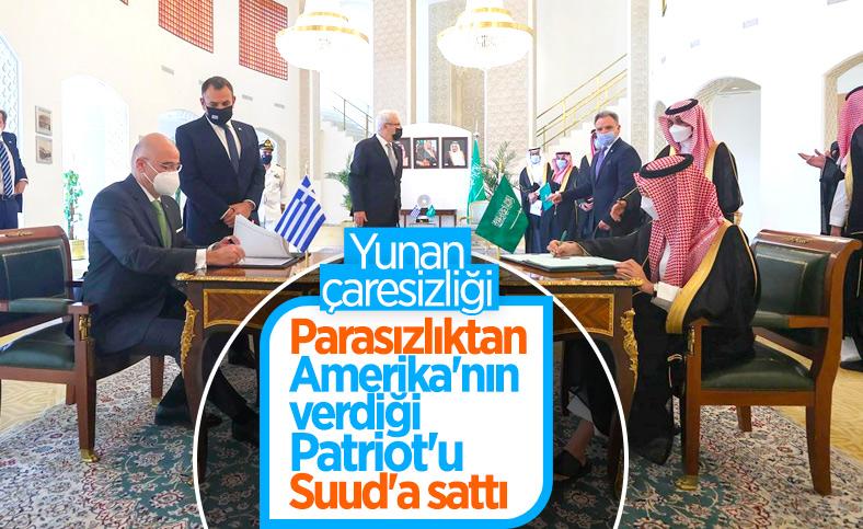 Yunanistan ile Suudi Arabistan, Patriot için anlaşma imzaladı