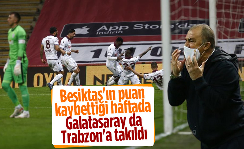 Galatasaray evinde Trabzonspor'la berabere kaldı