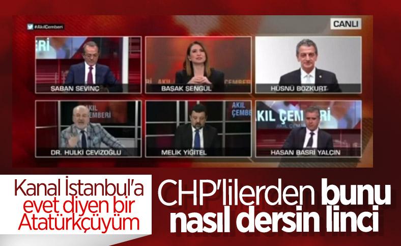 Hulki Cevizoğlu ve CHP'li Hüsnü Bozkurt arasında Kanal İstanbul tartışması