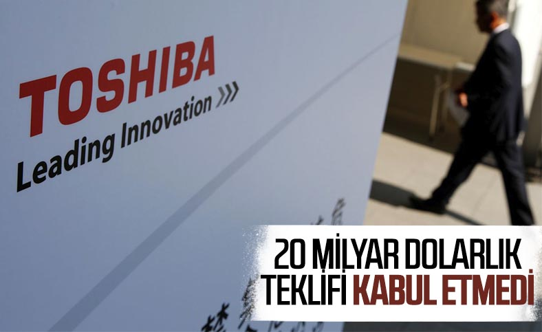 Toshiba, 20 milyar dolarlık satın alma teklifini reddetti