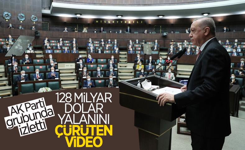 Cumhurbaşkanı Erdoğan'dan CHP'ye 128 milyar dolar yanıtı